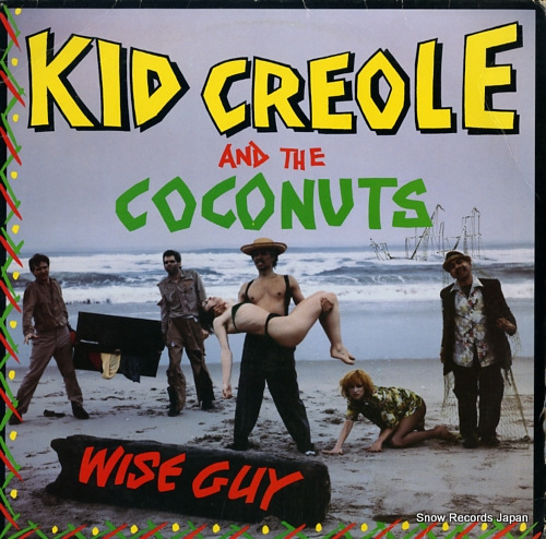 CREOLE, KID, AND THE COCONUTS wise guy SRK3681 - front cover