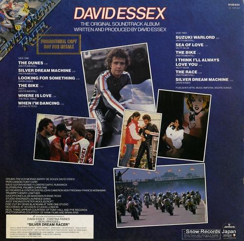 ESSEX, DAVID silver dream racer 9109634 - back cover