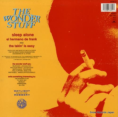 WONDER STUFF, THE sleep alone GONEX13/867605-1 - back cover