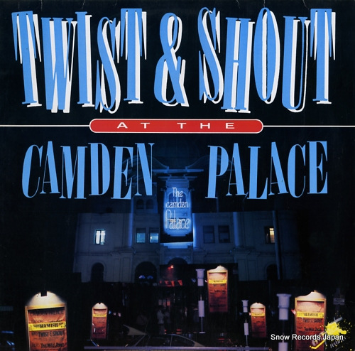 V/A twist & shout at the camden palace ACT005 - front cover