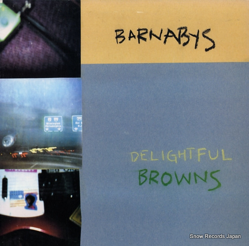 BARNABYS delightful browns SPART-16 - front cover