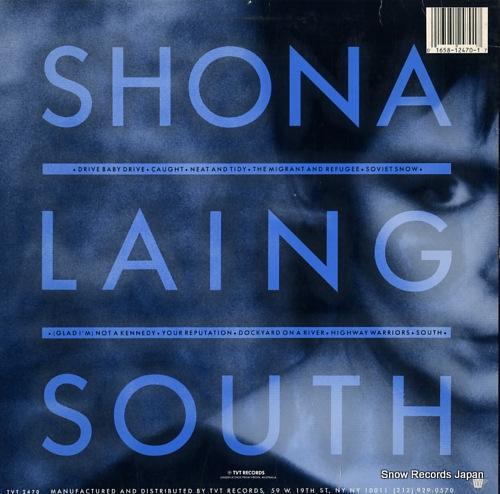 LAING, SHONA south TVT2470 - back cover