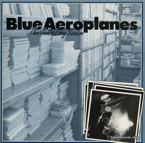 BLUE AEROPLANES, THE the janice long session SFNT009 - front cover