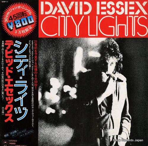 ESSEX, DAVID city lights 08SP11 - front cover