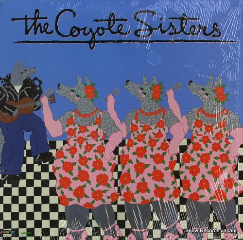 COYOTE SISTERS, THE the coyote sisters 6063CL - front cover