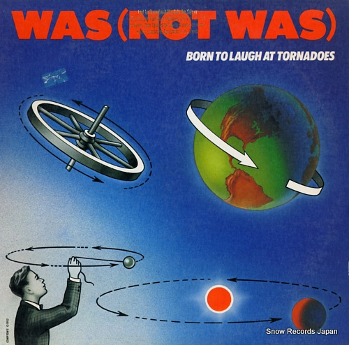 WAS(NOT WAS) born to laugh at tornadoes GHS4016 - front cover