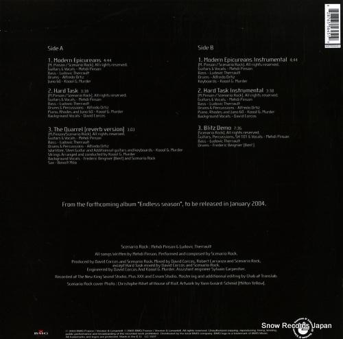 SCENARIO ROCK modern epicureans 82876556451 - back cover