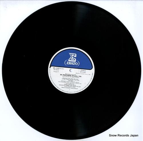 CAILLAT, STEPHANE delalande; de profundis (psaume 129) REL-1506 - disc