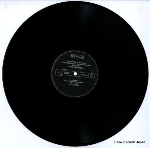 FRIEDLI, THOMAS klarinetten konzerte ML2052 - disc