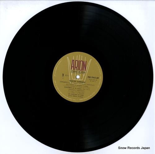 LES MUSICIENS DE PARIS marcello; quatre concerti OW-7862-AR - disc