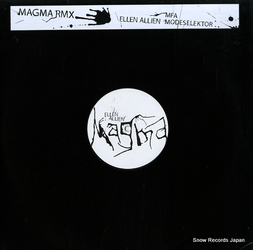 ALLIEN, ELLEN magma BPC105 - front cover