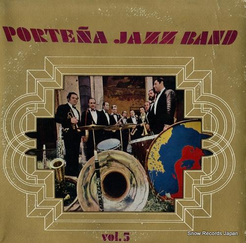 PORTENA JAZZ BAND vol.5 XT80029 - front cover