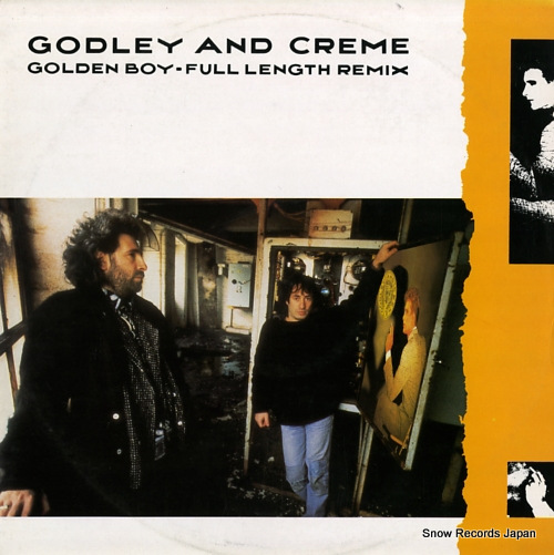 GODLEY AND CREME golden boy POSPX760 - front cover