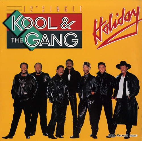 KOOL AND THE GANG holiday 888712-1 - front cover