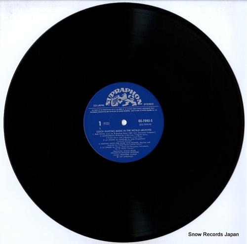 COLLEGIUM MUSICUM PRAGENSE czech hunting music in the world archives OS-7045-S - disc