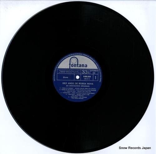 V/A 10 anos de bossa nova 6488020 - disc