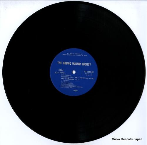 GIESEKING, WALTER rachmaninov; concerto no.2 OZ-7551-BS - disc