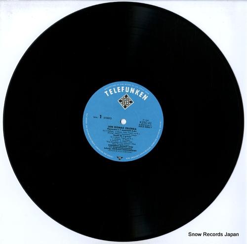 HARNONCOURT, NIKOLAUS zelenka; hipocondrie / ouverture a 7 / sonata ii K25C-41 - disc