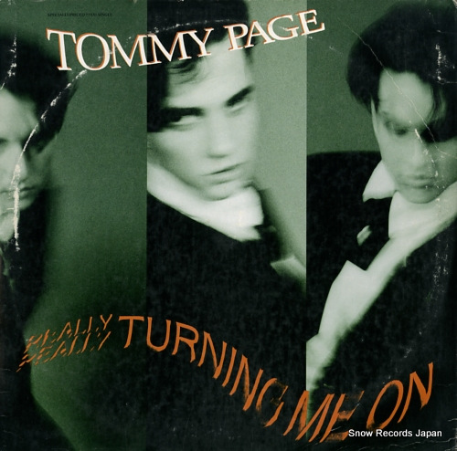 PAGE, TOMMY turning me on 0-20909 - front cover