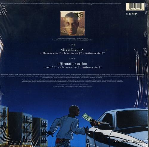 NAS street dreams 4478408 - back cover