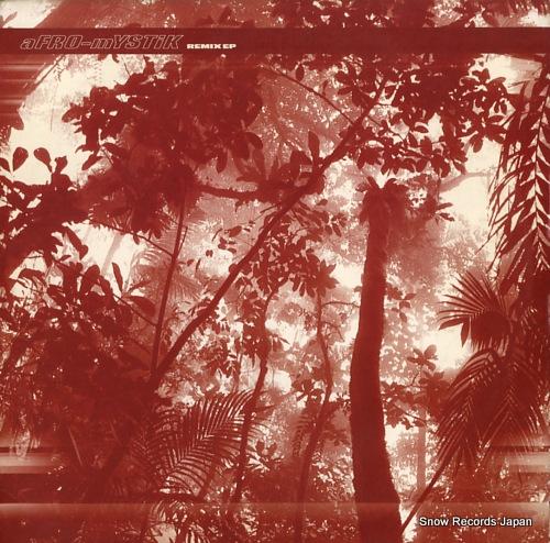 AFRO-MYSTIK remix ep OM046SV - front cover