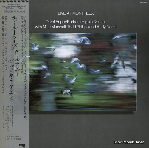 ANGER, DAROL / BARBARA HIGBIE live at montreux WHP-28027 - front cover