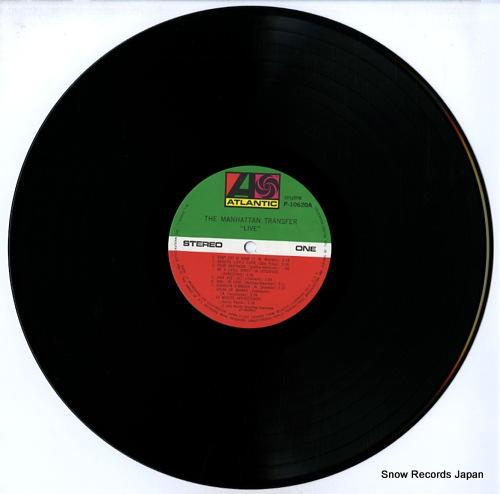 MANHATTAN TRANSFER live P-10620A - disc