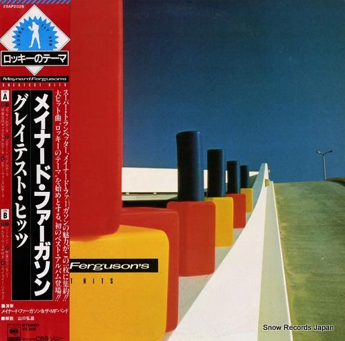 FERGUSON, MAYNARD greatest hits 25AP2026 - front cover