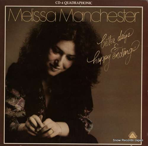MANCHESTER, MELISSA better days & happy endings AQ4067 - front cover