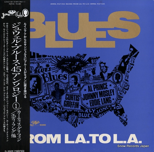 V/A blues from la. to l.a. PLP-724 - front cover