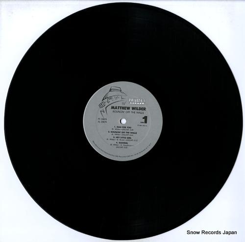 WILDER, MATTHEW bouncin' off the walls FZ39879 - disc