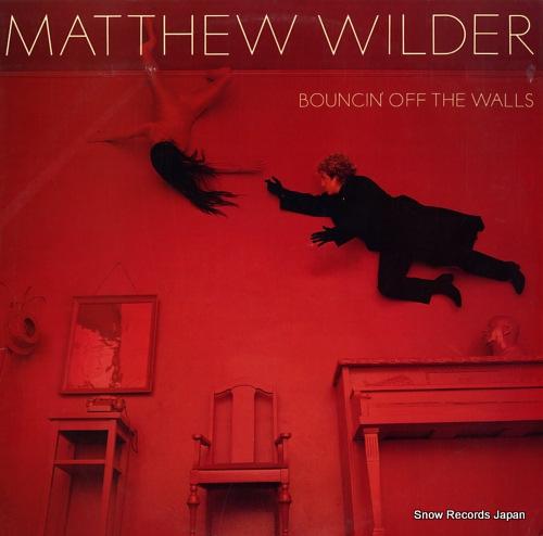 WILDER, MATTHEW bouncin' off the walls FZ39879 - front cover