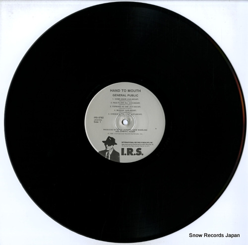 GENERAL PUBLIC hand to mouth IRS-5782 - disc