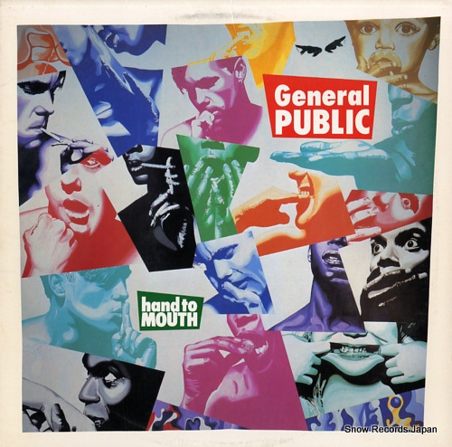 GENERAL PUBLIC hand to mouth IRS-5782 - front cover