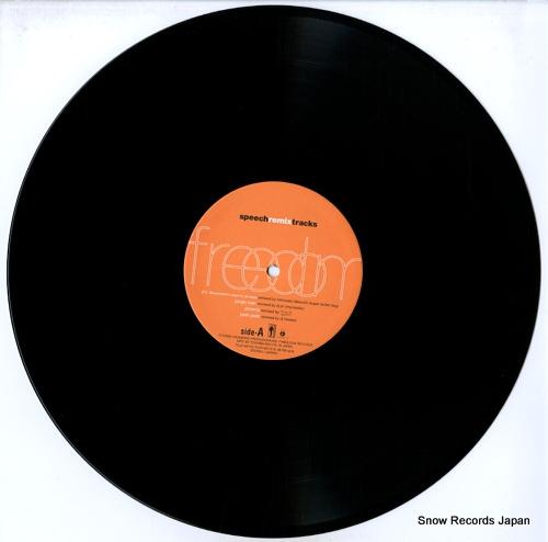 SPEECH freedom speech remix tracks TOJP-60112 - disc
