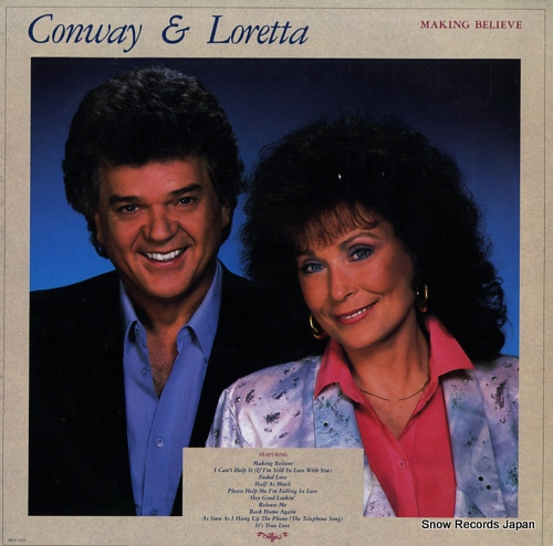 TWITTY, CONWAY, AND LORETTA LYNN marking believe MCA-42216 - front cover