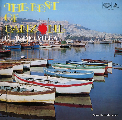 VILLA, CLAUDIO the best of canzonec SR226 - front cover