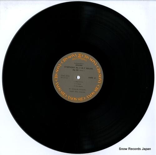 SZELL, GEORGE brahms; symphony no.3 in f major, op.90 20AC2037 - disc