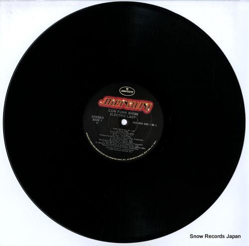 CON FUNK SHUN electric lady 824345-1M-1 - disc