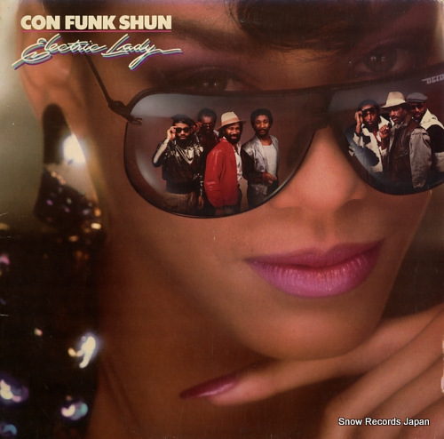 CON FUNK SHUN electric lady 824345-1M-1 - front cover