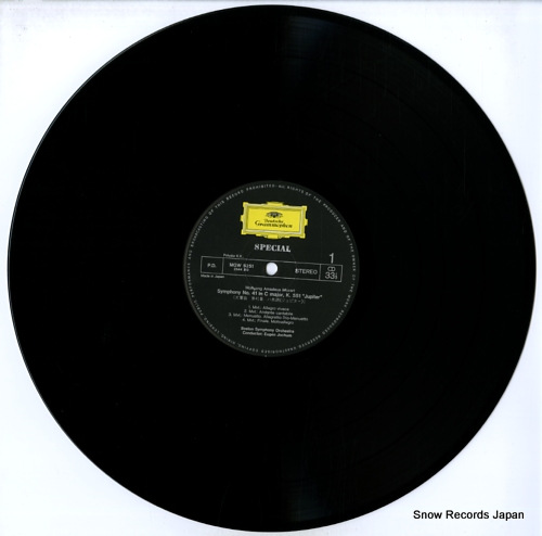JOCHUM, EUGEN mozart; symphony no.41 jupiter MGW5251 - disc