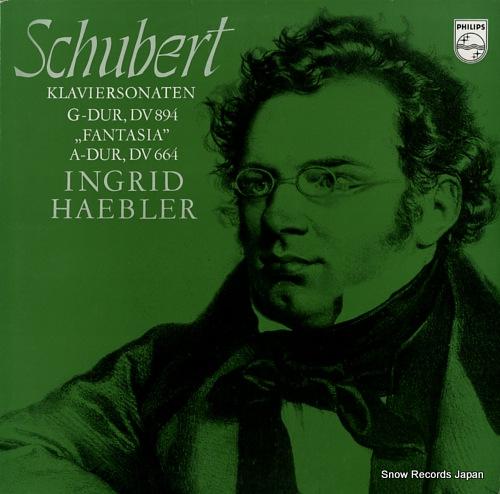 イングリッド・ヘブラー schubert; klaviersonaten g-dur, dv894 839772LY