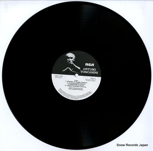 TOSCANINI, ARTURO rossini; overrtures S20C-1004 - disc