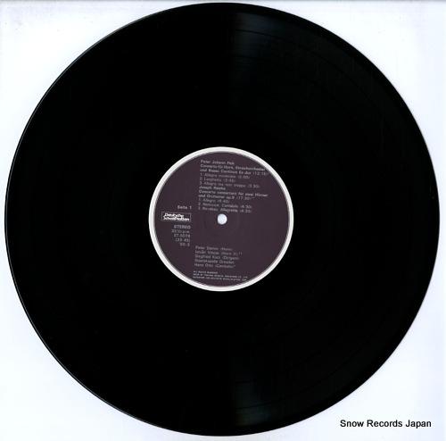 DAMM, PETER hornkonzerte ET-5078 - disc