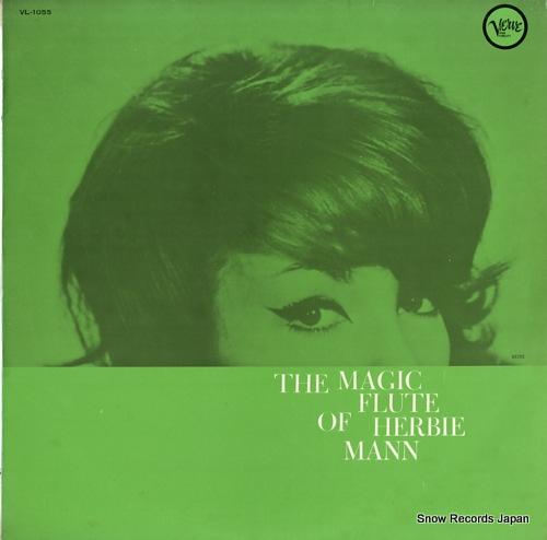 MANN, HERBIE the mugic flute of herbie mann VL-1055 - front cover