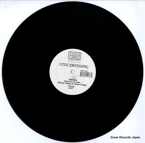 WARREN G pyt / turn it up loud SIMP12017 - disc