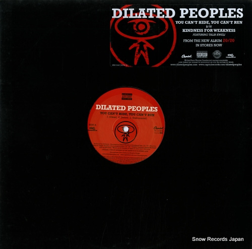 DILATED PEOPLES you can't hide, you can't run SPRO094635931518 - front cover
