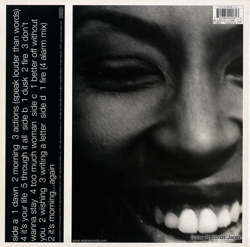 MCWILLIAMS, BRIGETTE too much woman 724384400613 - back cover