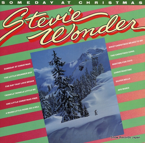 WONDER, STEVIE someday at christmas T7-362R1 - front cover