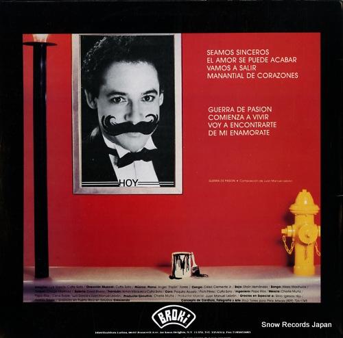 LEBRON, JUAN MANUEL salsa con sentido BROKI8801 - back cover